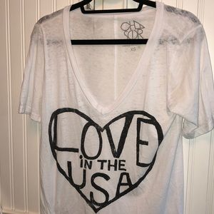 CHASER LOVE IN THE USA TEE